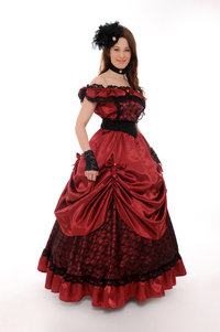 Old Styleballkleid Carina